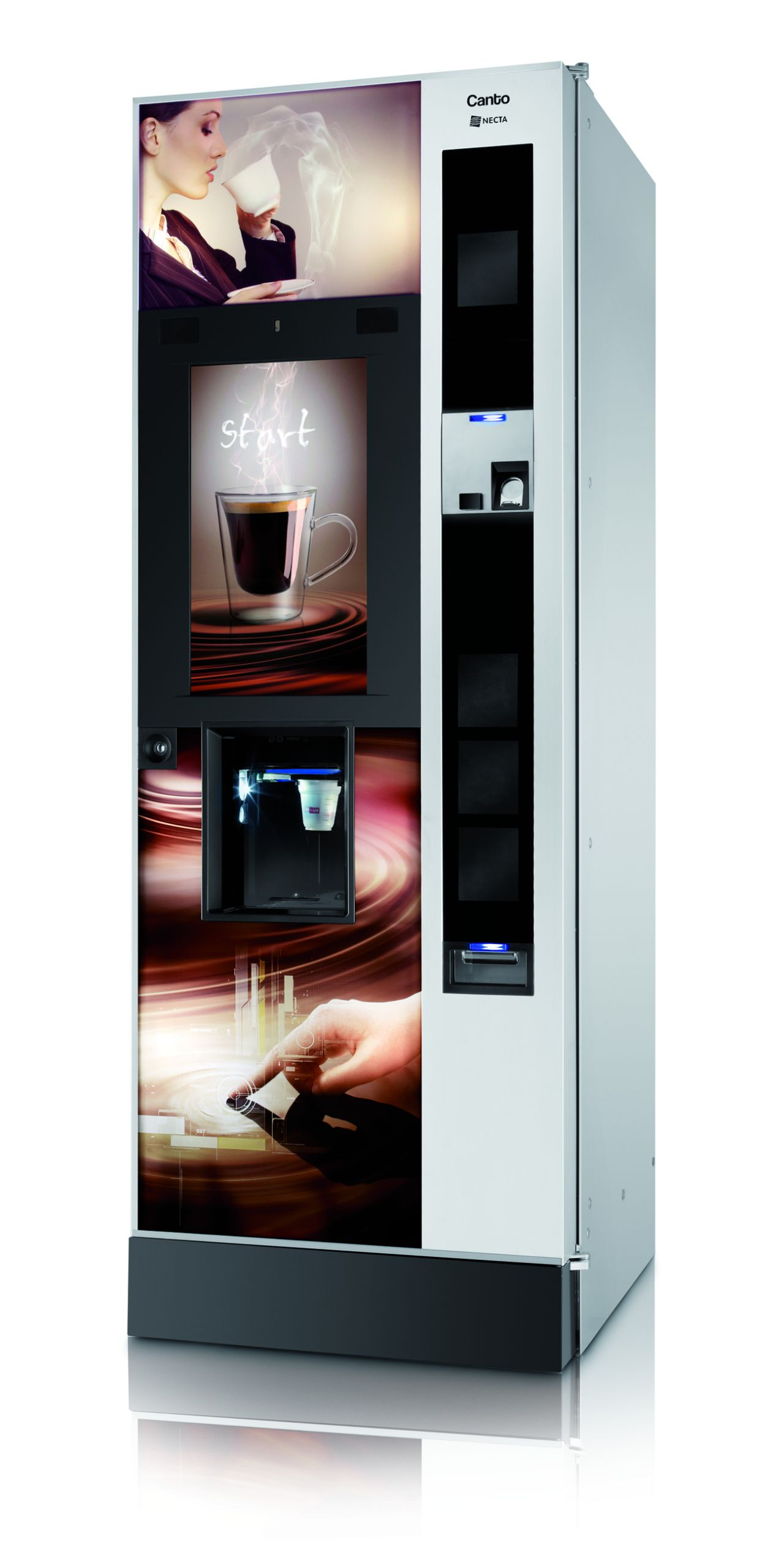 Necta Canto Touch | Nuovo Caffe Kaffeeautomaten